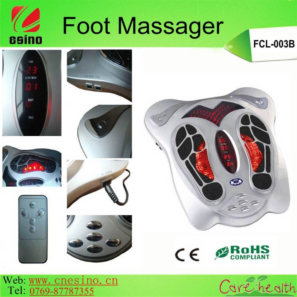 Low Voltage Foot Massager Machine/Electric Vibrating Foot Massager as Seen on TV with CE RoHS