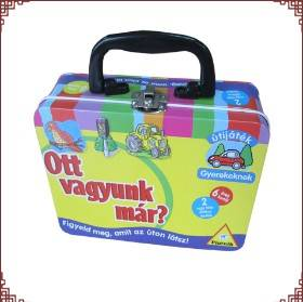 School Lunch Box Cosmetic Box Holiday Tins Manufacturer