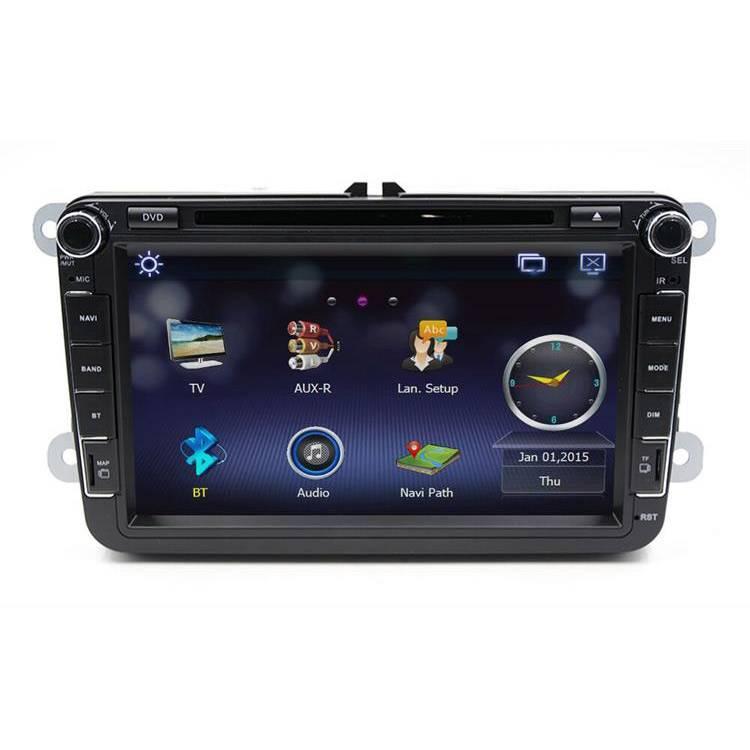 8 Inch Car DVD/GPS/BT Player For Volkswagen/Seat/Skoda Cars