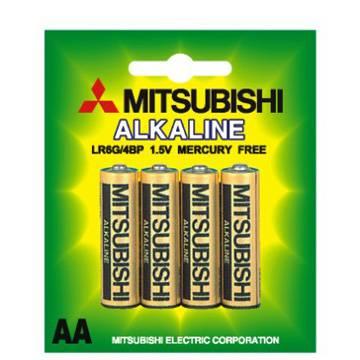 Mitsubishi Dry Alkaline Battery LR6