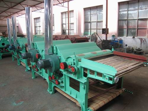 GM 410 four rollers cotton waste recycling machinery