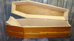 Wooden Casket, Wooden Coffin with Competitive Price