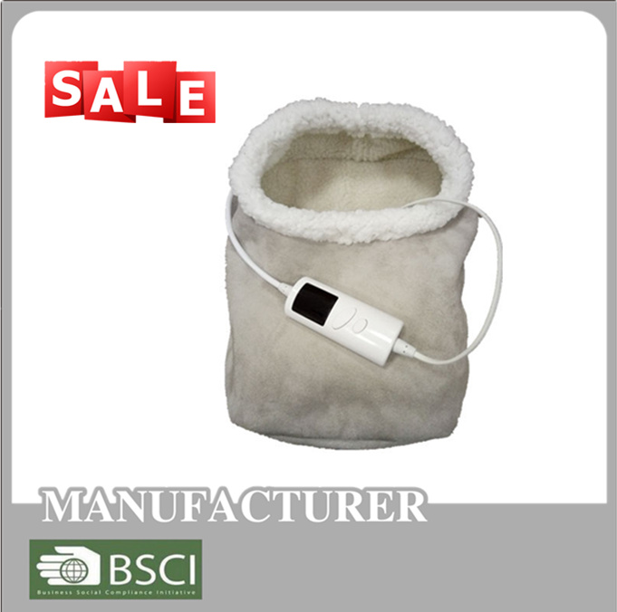 electric heating foot warmer with timer