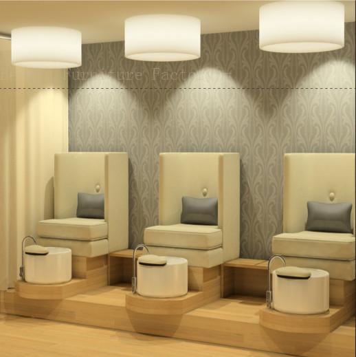 Triple Seats Pedicure Chair Foot Massage XY-89080