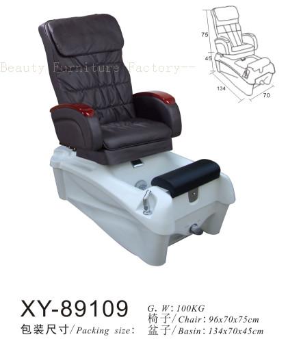 Salon Spa Pedicure Chair Fibreglass Sink XY-89109