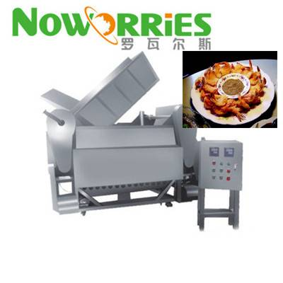 factory price wildly used puffed food fryer