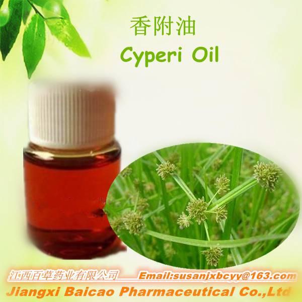 100% Pure Rizoma Cyperi Herbal Essential Oil