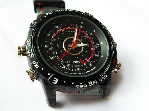 Spy Camera Watch Diving Watch 1280960 30fps DVR hidden camera