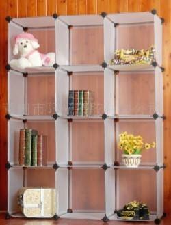 plastic cube storage shelf
