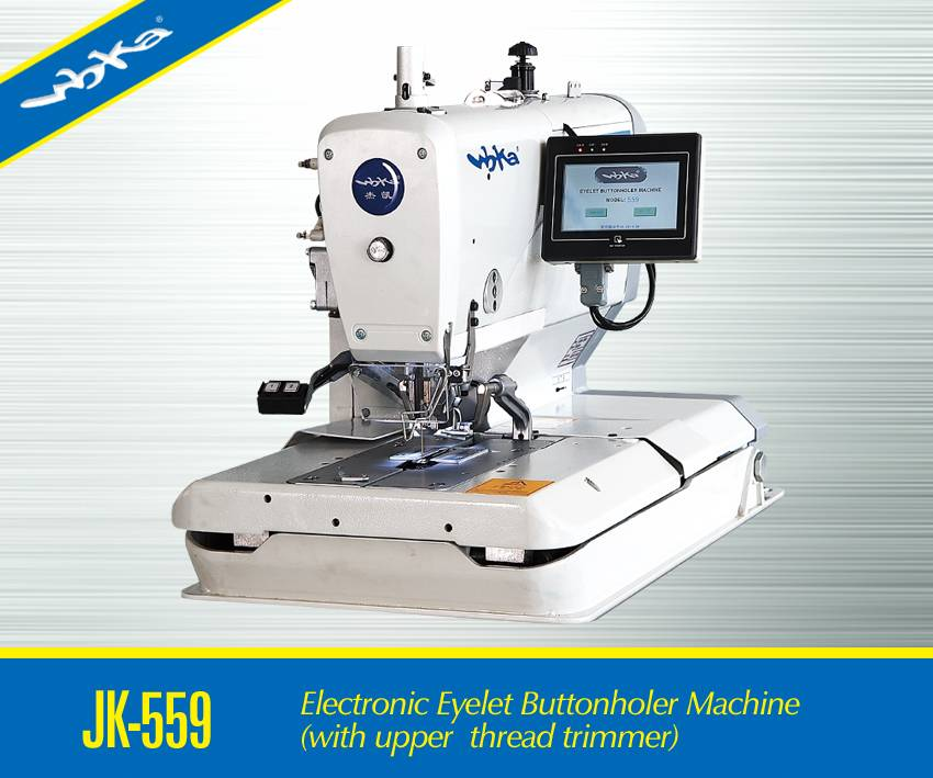 Atomatic Eyelet Buttonholing Sewing Machine