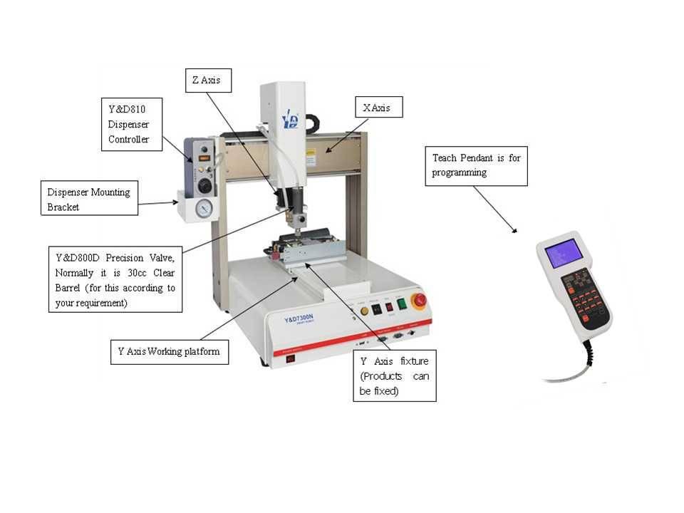 Adhesive dispensing Machine For PCB Board