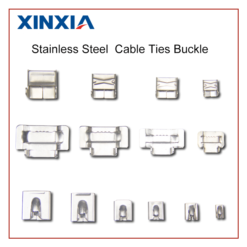 stainless steel cable ties and several accessories