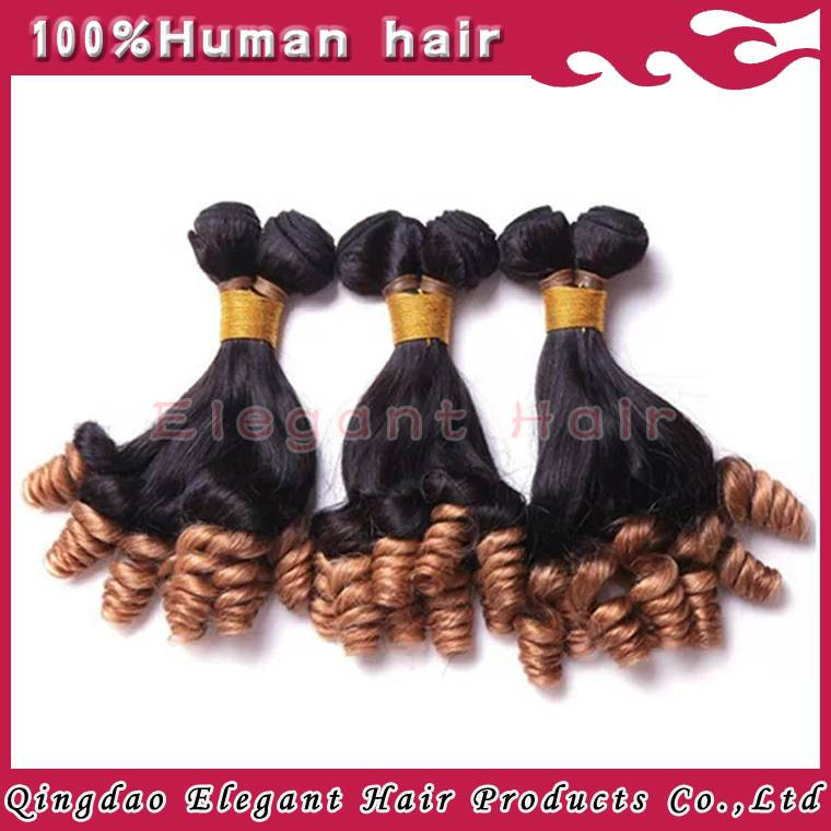 malaysian virgin hair ombre color funmi curl hair