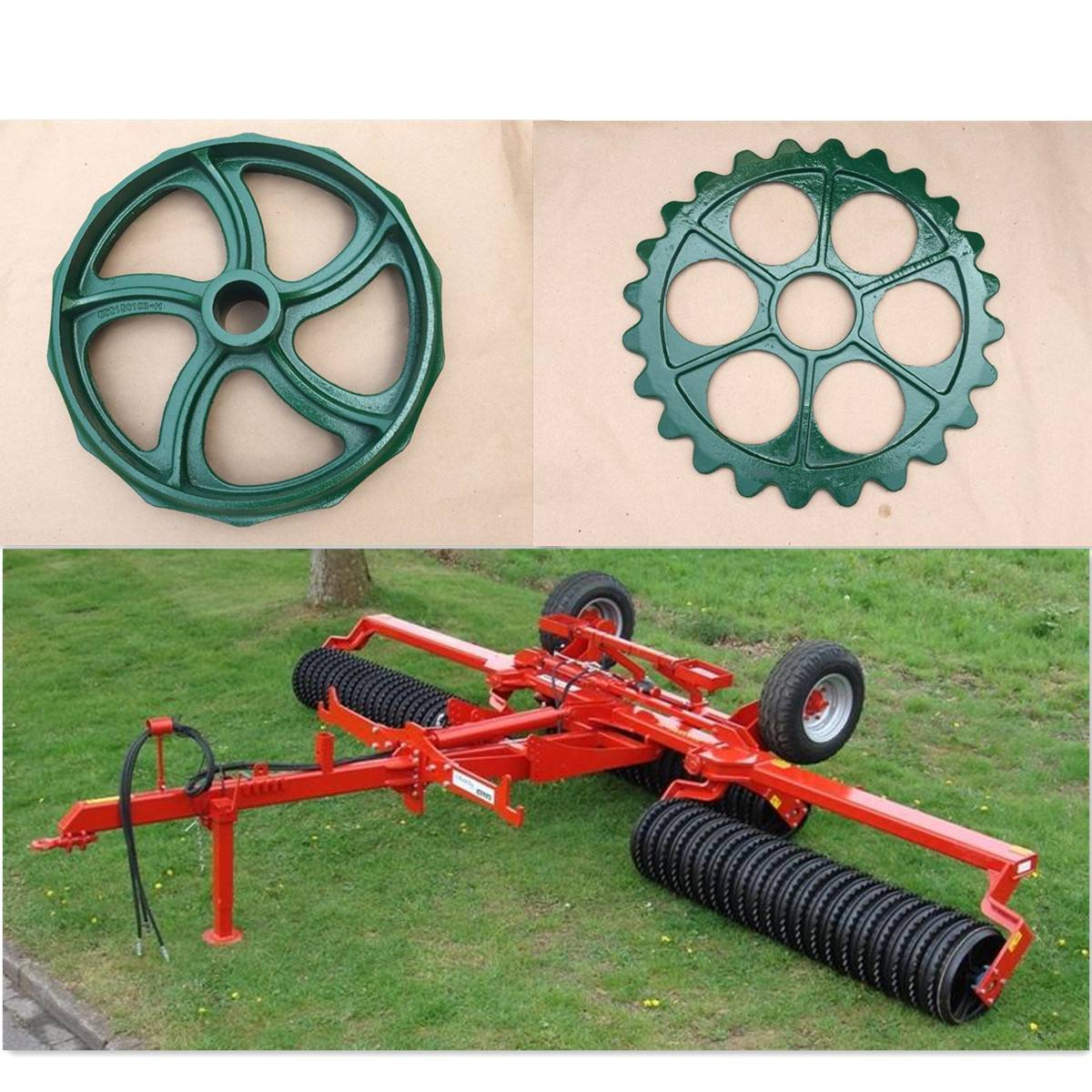 Agricultural Cast Iron Roller Rings
