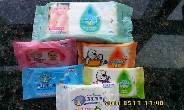 Hot sell high quality baby wet wipe /50gsm /2018CM