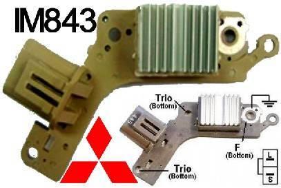 IM843 autmobile dc electrical power stabilizers alternator