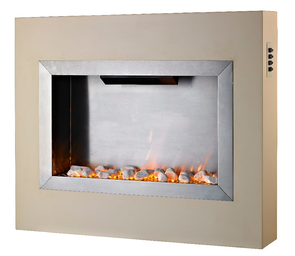 Freestanding Electric Fireplace Surround Suite LJSF3504E