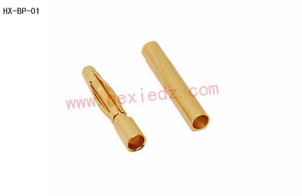 2.0mm gold plated connector male and female
