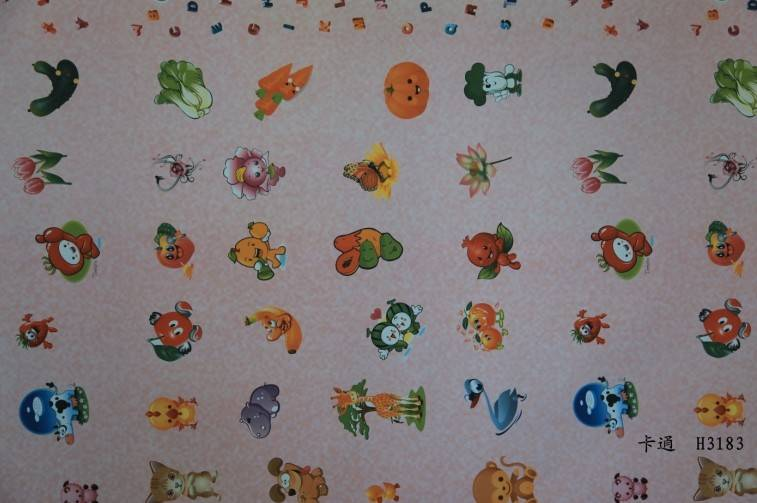 cartoon decorative paper for floor and furniture