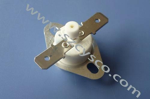 KSD301 bimetal temperature controller( manual reset thermostat)