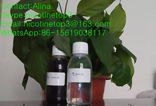 we frofessional manufacture pure nicotine and flavors for E-liquid
