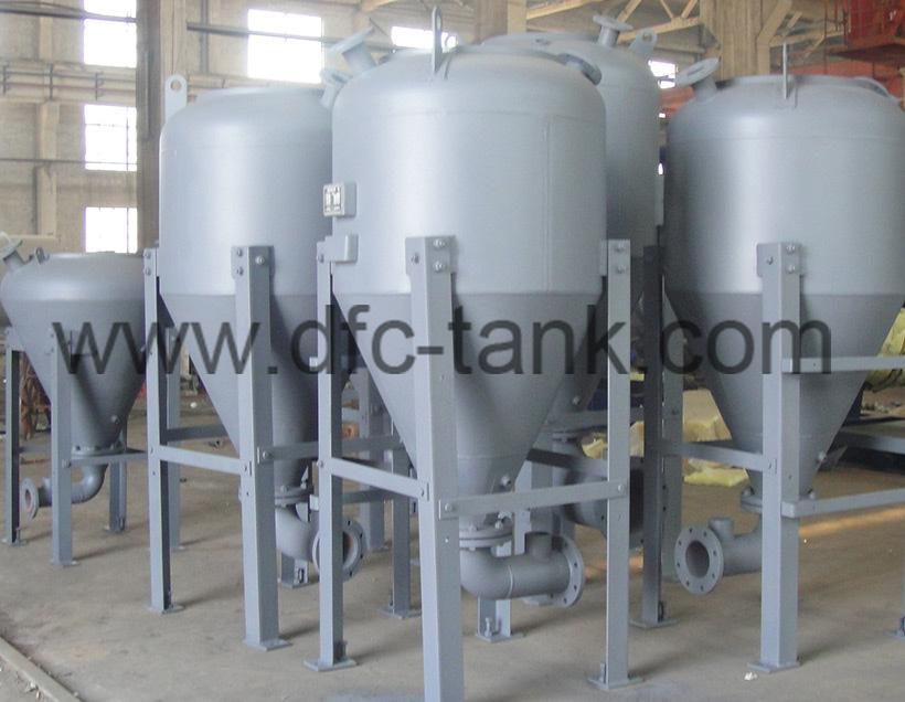 Conveying Tank for Steel Mill