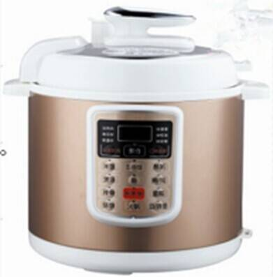 Electric pressure cooker in computer screen