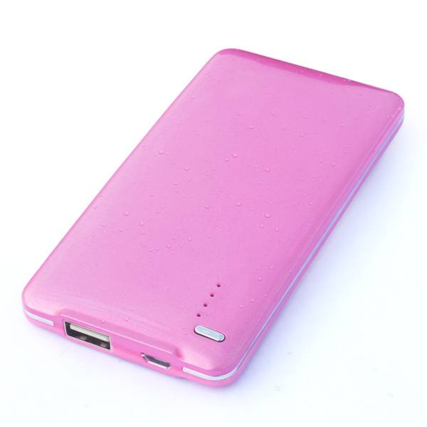 Bluetimes hot selling item power bank 5000mah capacity with ultra slim design