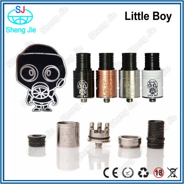 2014 hot christmas gift huge vapor little boy atomizer little boy rda
