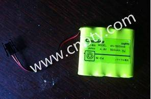 4N-500AAS SANYO Nickel cadmium battery 4.8V 500MAH