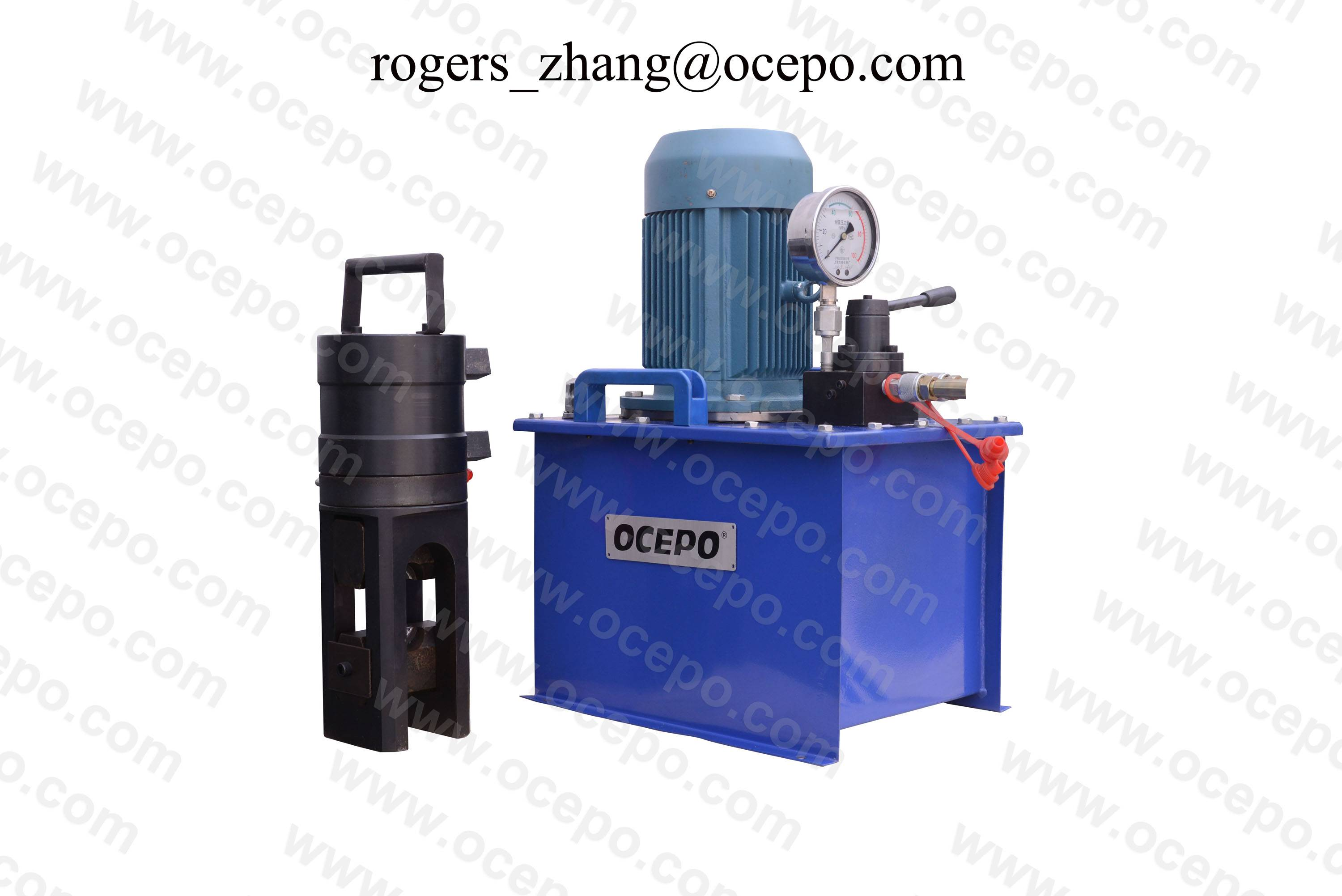 Rebar cold stamping machine