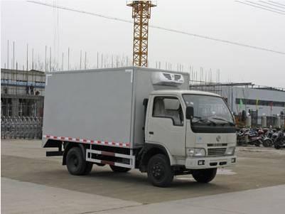5-10T cummins refrigerated truck