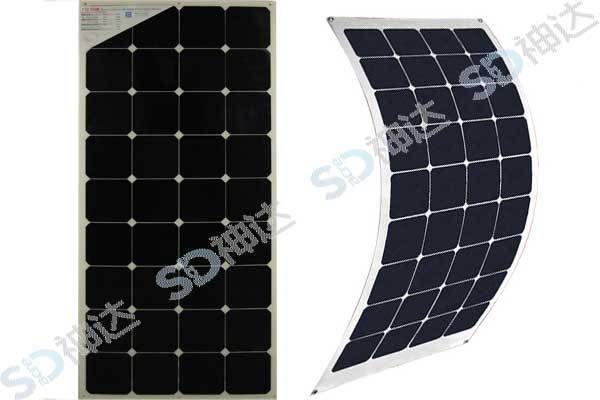 110W bendable solar module