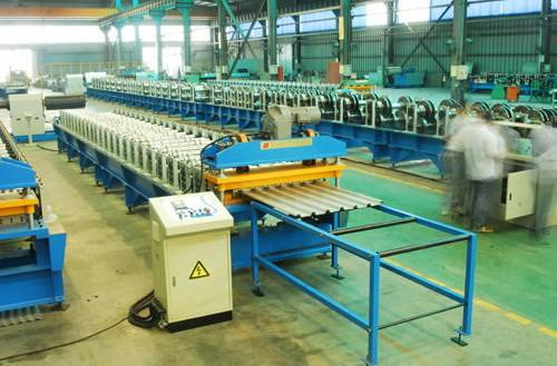 Cost Of Corrugated Aluminium Roofing Sheet Roll Forming Machine