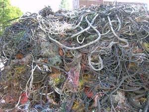 waste copper wire