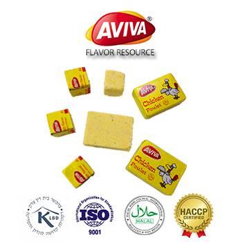 Halal Beef/Chicken/Shrimp Bouillon Cubes in instant soup [AVIVA CUBES]