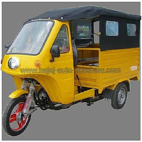 Bajaj Auto Rickshaw pedicab passengers motor tricycle BA150ZK-2B