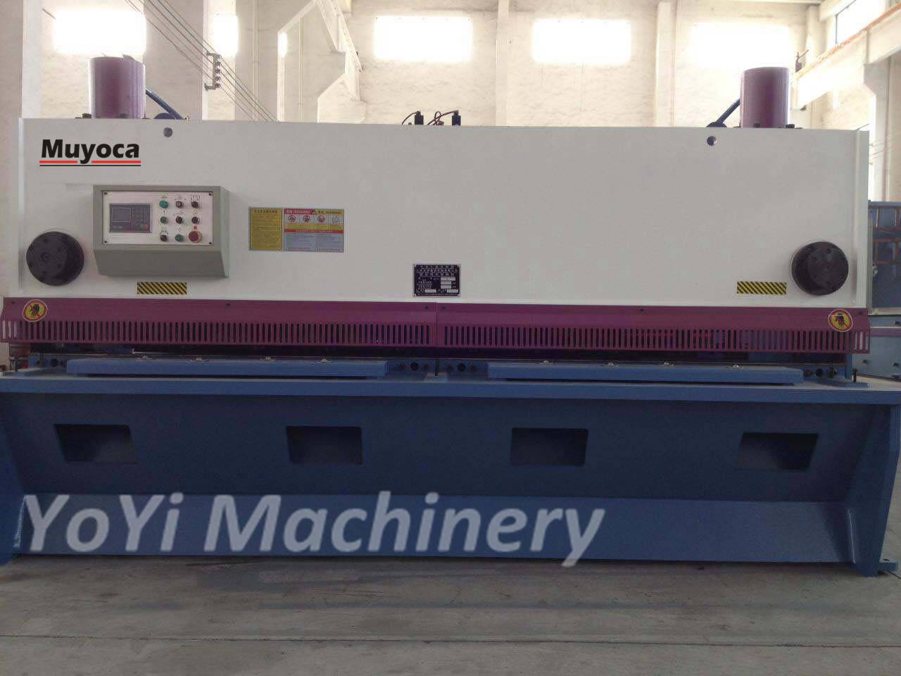 QC11K-8x3200 hydraulic cnc plate shearing machine