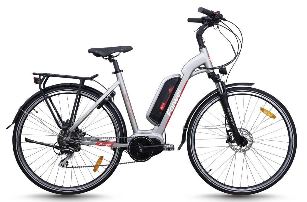 Mid-drive motor city electric bike (FR-TDB15Z)