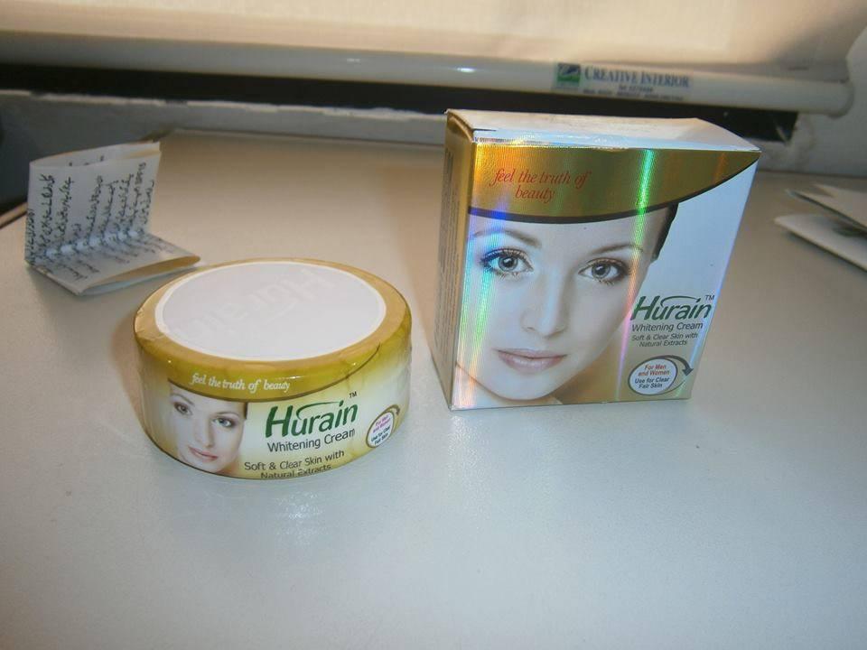 Hurain Whitening Cream & Soap