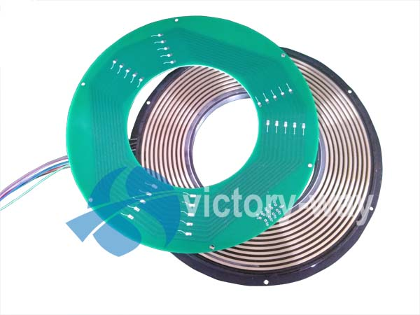 Miniature PCB Slip Ring in Smart Toys/2 parts/Pancake Type