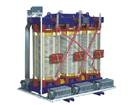 SGB11-R H class non-encapsulation coil core dry type power transformers