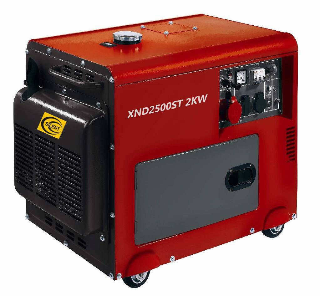 2KW Diesel generator Silent Type with high quality