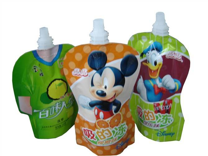 Sell Plastic Beverage Pouch / Juice Pouch / Jelly Pouch