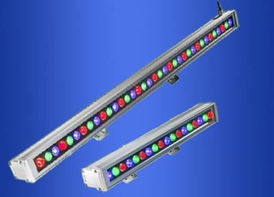 RGB led wall washer lights