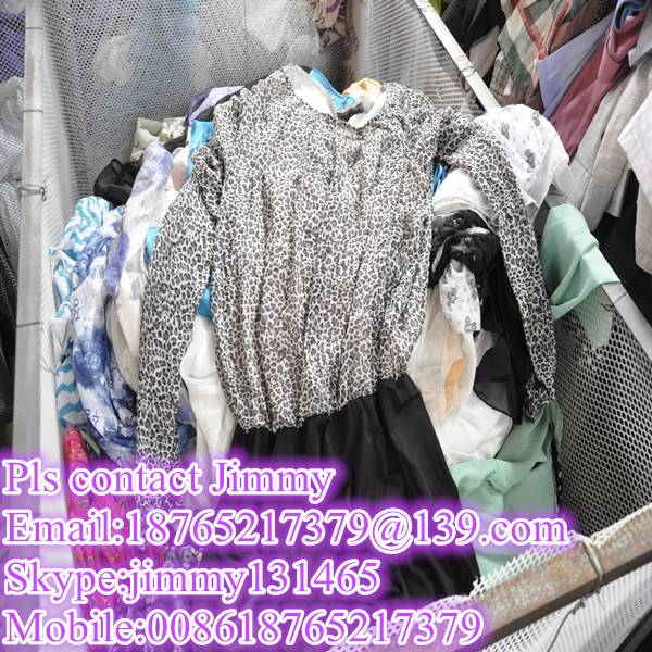 sale good quality used clothing bales in China