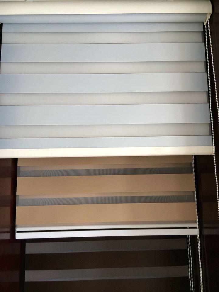 zebra blinds/ vision blinds/ double roller blinds