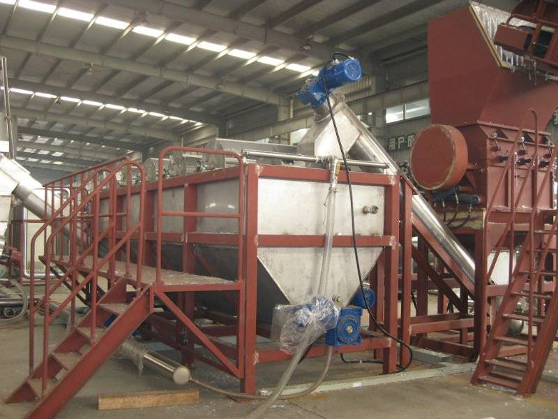 Plastic Recycling Machine for PET bottles