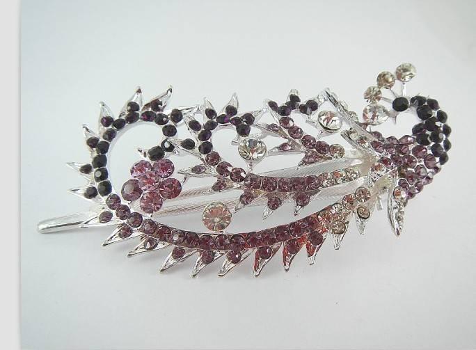 fashion women wedding crown hairpins