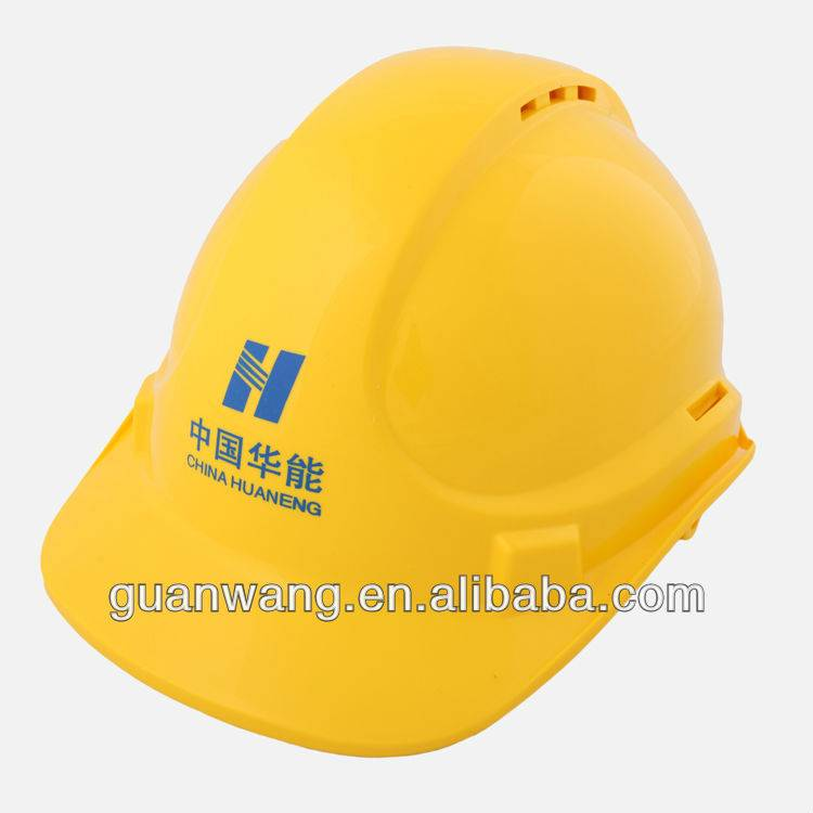 Ventilate Safety Helmet/6 Points Suspension Safety Hard Hat